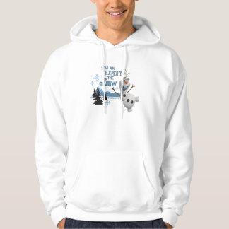 Olaf, I'm an Expert on the Snow Hooded Sweatshirt
