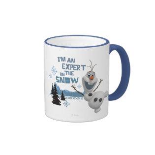 Olaf, I'm an Expert on the Snow Ringer Coffee Mug
