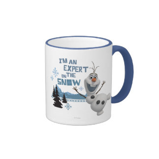 Olaf, I'm an Expert on the Snow Ringer Mug
