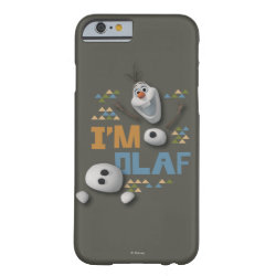 Case-Mate Barely There iPhone 6 Case with Funny: Olaf in Pieces design