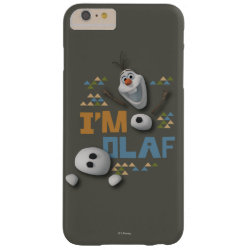 Funny: Olaf in Pieces Case-Mate Barely There iPhone 6 Plus Case