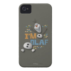 Case-Mate iPhone 4 Barely There Universal Case with Funny: Olaf in Pieces design