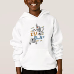 Girls' American Apparel Fine Jersey T-Shirt with Funny: Olaf in Pieces design