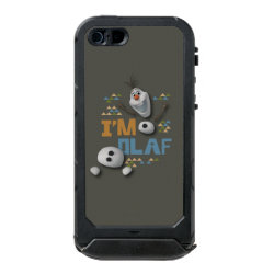 Funny: Olaf in Pieces Incipio Feather Shine iPhone 5/5s Case