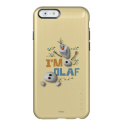 Funny: Olaf in Pieces Incipio Feather® Shine iPhone 6 Case