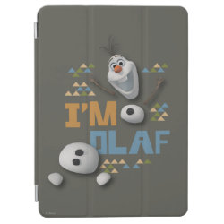 iPad Air Cover with Funny: Olaf in Pieces design