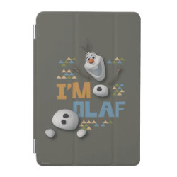 iPad mini Cover with Funny: Olaf in Pieces design