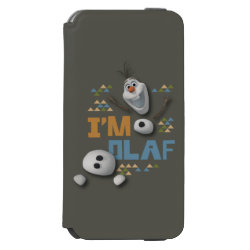 Incipio Watson™ iPhone 6 Wallet Case with Funny: Olaf in Pieces design