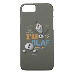 Case-Mate Barely There iPhone 7 Case with Funny: Olaf in Pieces design