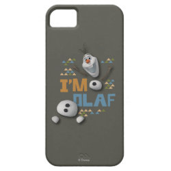 Case-Mate Vibe iPhone 5 Case with Funny: Olaf in Pieces design