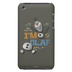 Case-Mate iPod Touch Barely There Case with Funny: Olaf in Pieces design