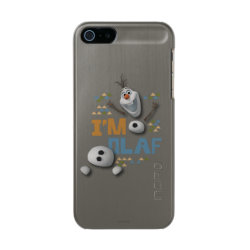 Incipio Feather Shine iPhone 5/5s Case with Funny: Olaf in Pieces design