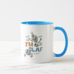 Funny: Olaf in Pieces Combo Mug