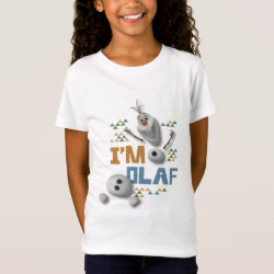 Funny: Olaf in Pieces Girls' Fine Jersey T-Shirt