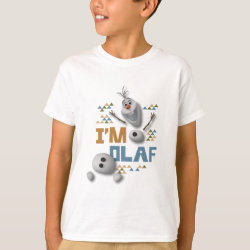 Kids' Hanes TAGLESS® T-Shirt with Funny: Olaf in Pieces design
