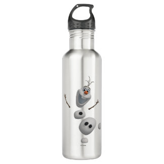 Olaf - in Pieces Stainless Steel Water Bottle