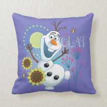 Olaf | It's a Perfect Day Throw Pillow