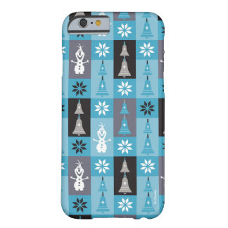 Olaf   Let the Holiday's Begin Pattern Barely There iPhone 6 Case