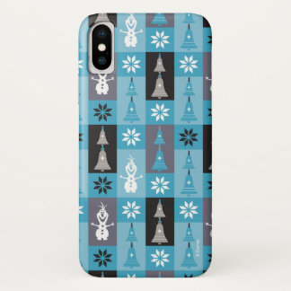 Olaf   Let the Holiday's Begin Pattern iPhone X Case