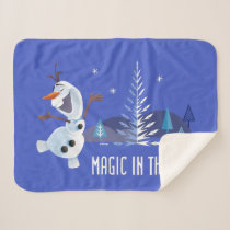 Olaf | Magic in the Air Sherpa Blanket