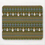 Olaf Pattern Mouse Pad