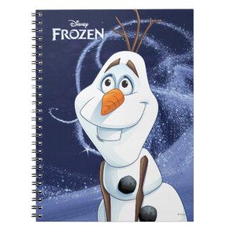 Olaf - pequeño héroe fresco libreta espiral