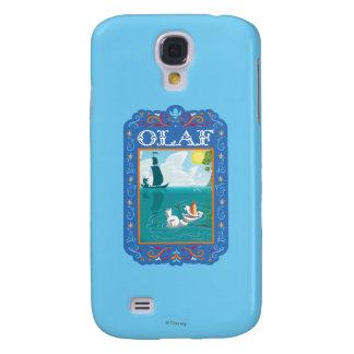 Olaf que flota en el agua