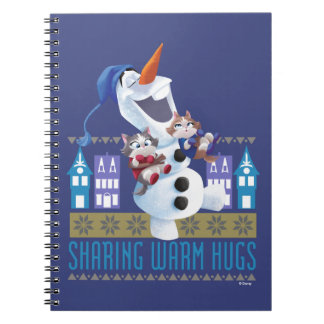 Olaf | Sharing Warm Hugs Notebook