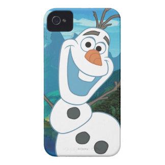 Olaf - siempre para arriba para la aventura iPhone 4 Case-Mate funda
