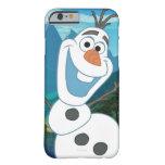Olaf - siempre para arriba para la aventura funda de iPhone 6 barely there
