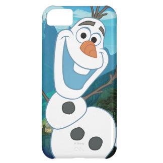 Olaf - siempre para arriba para la aventura funda para iPhone 5C