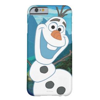 Olaf - siempre para arriba para la aventura funda para iPhone 6 barely there