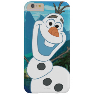 Olaf - siempre para arriba para la aventura funda para iPhone 6 plus barely there