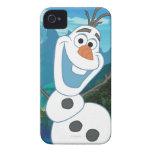 Olaf - siempre para arriba para la aventura iPhone 4 Case-Mate protector