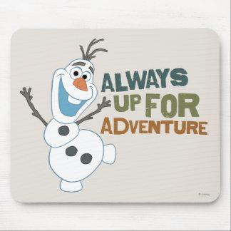 Olaf - siempre para arriba para la aventura tapete de ratones