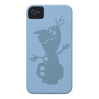 Olaf Silhouette iPhone 4 Case