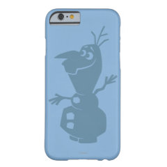 Olaf Silhouette iPhone 6 Case