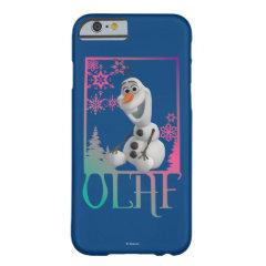 Olaf Sitting iPhone 6 Case