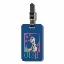 Olaf | Sitting Luggage Tag