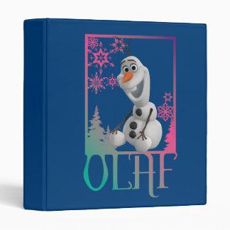 Olaf Sitting Vinyl Binder