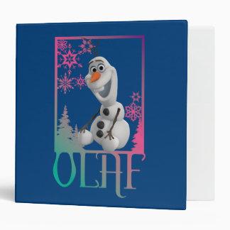 Olaf Sitting Vinyl Binders