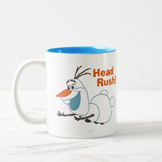 Olaf Sliding Two-Tone Coffee Mug