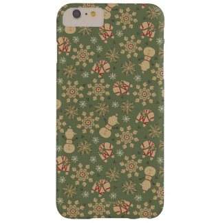 Olaf    Snowflakes and Magic Pattern Barely There iPhone 6 Plus Case