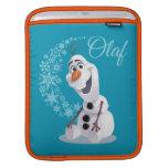 Olaf Snowflakes iPad Sleeves
