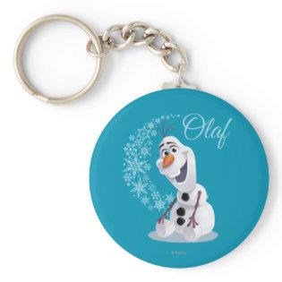 Olaf Snowflakes Key Chains