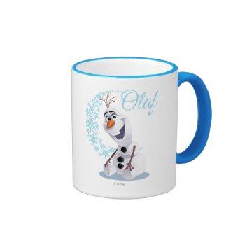 Olaf Snowflakes Mugs at Zazzle