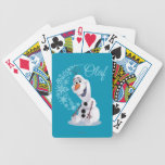 Olaf Snowflakes Playing Cards