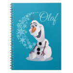 Olaf Snowflakes Spiral Note Book