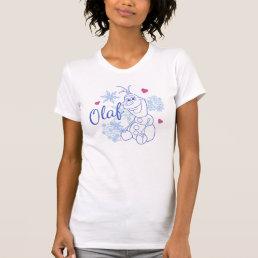 Olaf | Snowflakes T-Shirt