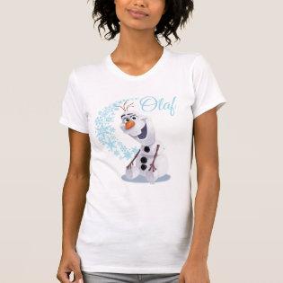 Olaf Snowflakes Tee Shirt